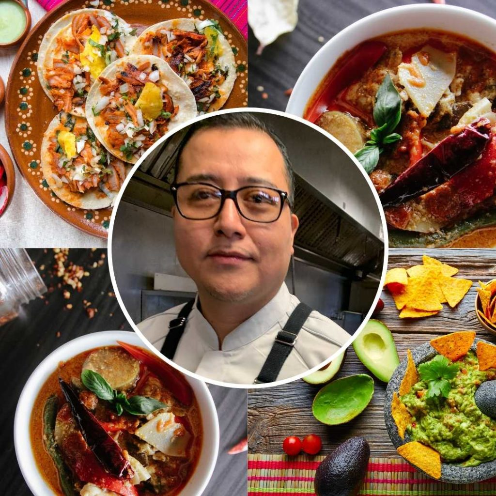 Picture of Mexican chef in Minnesota Andres Garcia