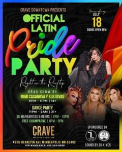 Latin Pride Party 240x300