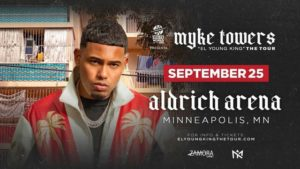 Myke Towers Young King Tour 300x169
